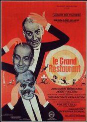 Poster Le grand restaurant