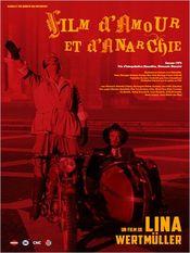 Poster Film d'amore e d'anarchia
