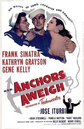 Poster Anchors Aweigh
