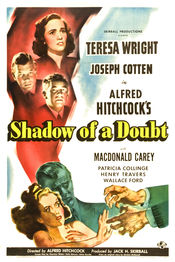 Poster Shadow of a Doubt