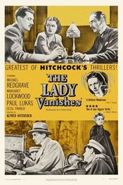 Poster The Lady Vanishes