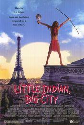 Poster Un indien dans la ville