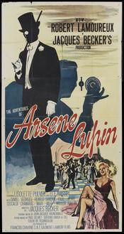Poster Les Aventures d'Arsene Lupin