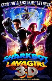 Poster The Adventures of Sharkboy and Lavagirl in 3-D