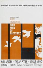 Poster Birdman of Alcatraz