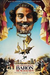 Poster The Adventures of Baron Munchausen
