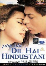 Poster Phir Bhi Dil Hai Hindustani