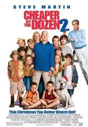 Poster Cheaper by the Dozen 2