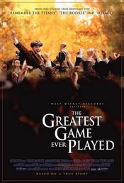 Poster The Greatest Game Ever Played