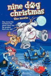 Poster Nine Dog Christmas