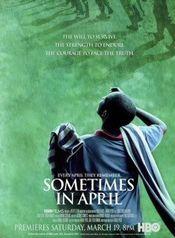 Poster Sometimes in April