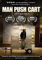 Poster Man Push Cart