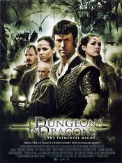 Poster Dungeons & Dragons: Wrath of the Dragon God