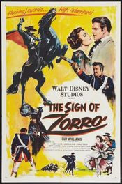 Poster The Sign of Zorro