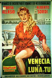 Poster Venezia, la luna e tu