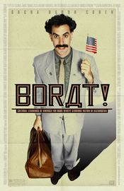 Poster Borat: Cultural Learnings of America for Make Benefit Glorious Nation of Kazakhstan
