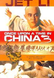 Poster Wong Fei Hung ji saam: Si wong jaang ba