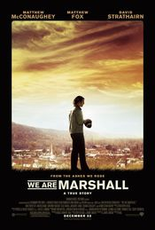 Poster We Are Marshall