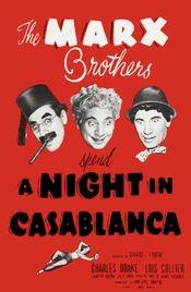 Poster A Night in Casablanca