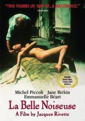 Poster La belle noiseuse