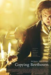 Poster Copying Beethoven