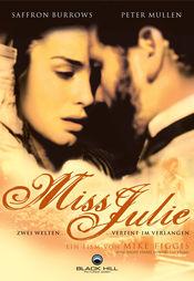 Poster Miss Julie