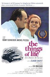 Poster Les choses de la vie