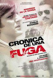 Poster Cronica de una fuga