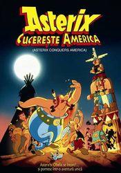 Poster Asterix Conquers America