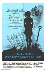 Poster The Little Girl Who Lives Down the Lane