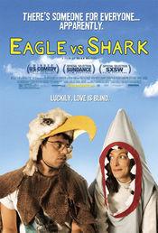 Poster Eagle vs Shark