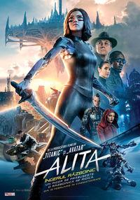 Poster ALITA: INGERUL RAZBOINIC - 3D