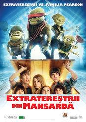 Poster Aliens in the Attic