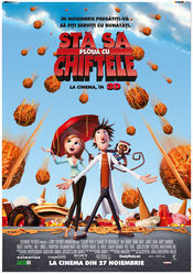 Poster Cloudy With a Chance of Meatballs