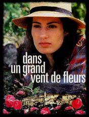 Poster Dans un grand vent de fleurs