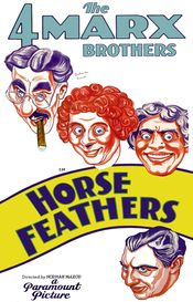Poster Horse Feathers