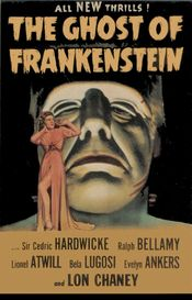 Poster The Ghost of Frankenstein