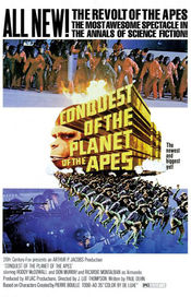 Poster Conquest of the Planet of the Apes