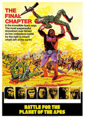 Poster Battle for the Planet of the Apes