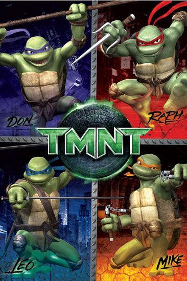 teenage mutant ninja turtles testoasele ninja 1990