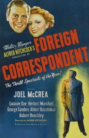 Poster Foreign Correspondent