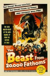 Poster The Beast from 20,000 Fathoms