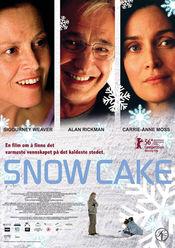 Poster Snow Cake