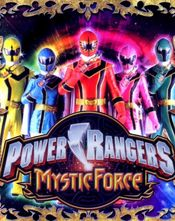 Poster Power Rangers Mystic Force