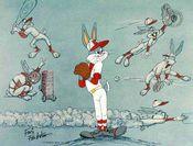 Poster Baseball Bugs