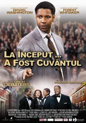 Poster The Great Debaters