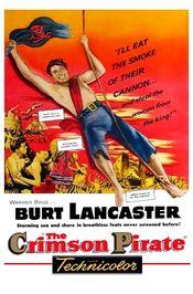 Poster The Crimson Pirate