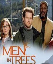 Poster Men in Trees