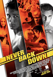 Poster Never Back Down