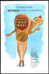 Poster Operation Mad Ball